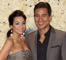 Mario Lopez and Fiancé Load Up on Spring Scents