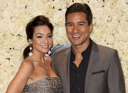 Courtney Mazza and Mario Lopez. Photo: Emiley Schweich / PR Photos