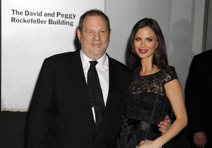 Harvey Weinstein and Georgina Chapman. Photo: GG/GG/FAMEFLYNET PICTURES