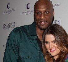 Lamar Odom Teaches Khloe Kardashian a Lesson with Handcuffs