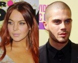 Lindsay Lohan Swipes Max George's Sweatshirt Post-Hookup