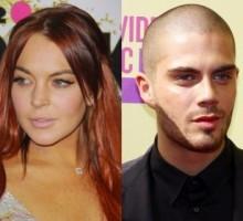 Lindsay Lohan Swipes Max George's Sweatshirt Post-Hookup