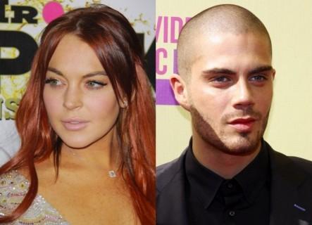 Cupid's Pulse Article: Lindsay Lohan Swipes Max George's Sweatshirt Post-Hookup