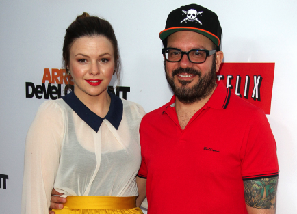 Amber Tamblyn and David Cross.  Photo: Juan Rico/FAMEFLYNET PICTURES
