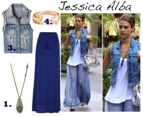 Cupid's Pulse Article: Jessica Alba's Sexy Sweet Style
