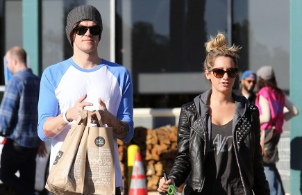Cupid's Pulse Article: Ashley Tisdale Steps Out With New Boyfriend Christopher French
