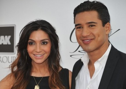 Courtney Mazza and Mario Lopez. Photo: richard shotwell / PR Photos