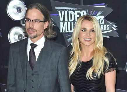 Jason Trawick and Britney Spears. Photo: KM/FAMEFLYNET
