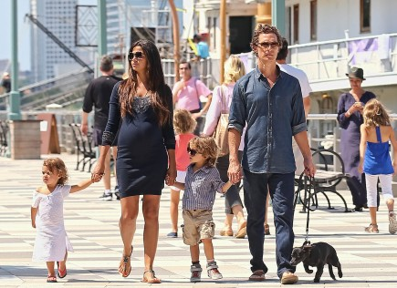 Cupid's Pulse Article: Matthew and Camila McConaughey Name Their Son Livingston