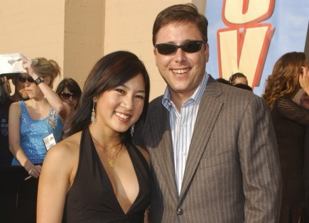 Michelle Kwan and Clay Pell. Photo: Albert L. Ortega / PR Photos