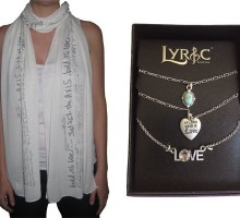 Giveaway: Lyric Culture: Wear Your Heart on Your Sleeve for All to See