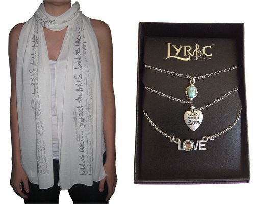Cupid's Pulse Article: Giveaway: Lyric Culture: Wear Your Heart on Your Sleeve for All to See