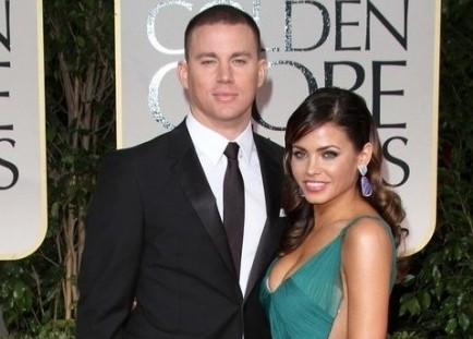 Channing Tatum and Jenna Dewan. Photo: Andrew Evans / PR Photos