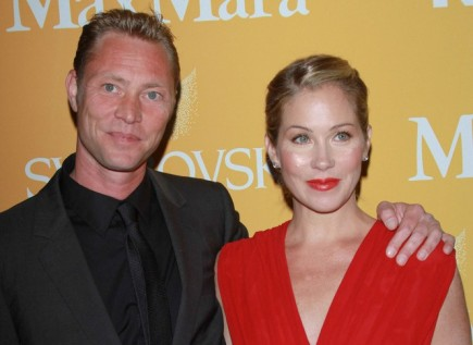 Christina Applegate and Martyn LeNoble. Photo: Andrew Evans  / PR Photos