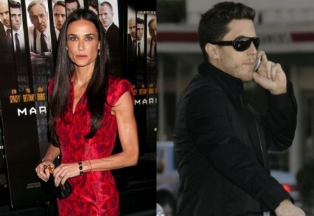 Cupid's Pulse Article: Demi Moore Has Another Dinner Date with Harry Morton