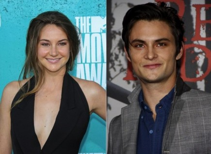 Shailene Woodley and Shiloh Fernandez. Photo: Andrew Evans / PR Photos; David Gabber / PR Photos
