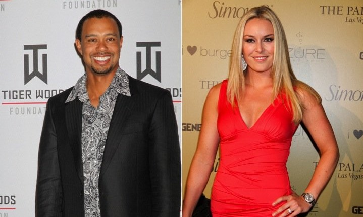 Cupid's Pulse Article: Celebrity News: Tiger Woods and Lindsey Vonn Jet Ski with His Kids for Memorial Day Weekend