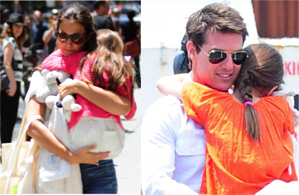 Katie Holmes, Tom Cruise, and Suri.  Photo: Marquez/FAMEFLYNET PICTURES, Marquez/FAMEFLYNET PICTURES