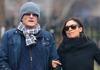 Cupid's Pulse Article: Celebrity Couple: Rosario Dawson and Danny Boyle Call It Quits and Avoid Each Other