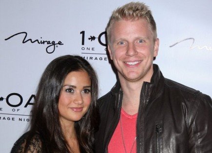 Catherine Giudici and Sean Lowe. Photo: PRN / PRPhotos.com