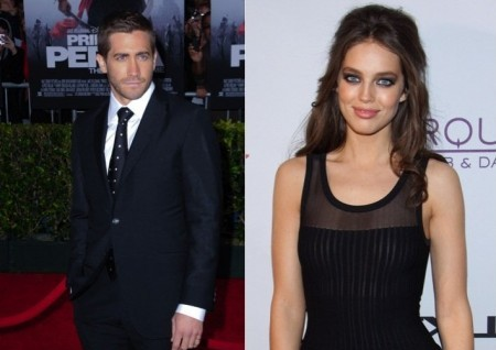 Jake Gyllenhaal and Emily DiDonato. Photo: Albert L. Ortega / PR Photos; Justin Paludipan / PR Photos