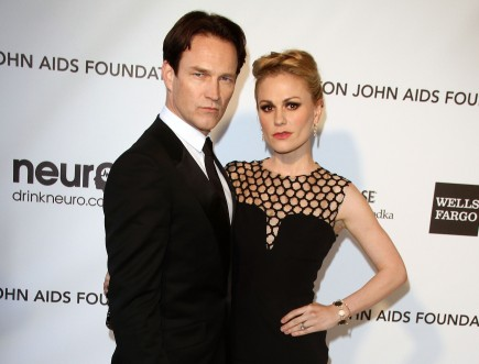 Cupid's Pulse Article: Anna Paquin and Stephen Moyer Show Off Twin Son and Daughter During Family Outing
