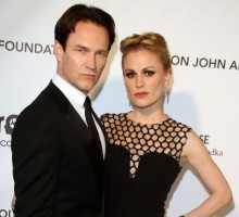 Celebrity Couple: Anna Paquin and Stephen Moyer Show Off Twin Son and Daughter During Family Outing