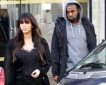 Celebrity Couples, Kim Kardashian, Kanye West, Pregnancy and Baby, slider