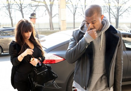 Cupid's Pulse Article: Celebrity Couple Kim Kardashian and Kanye West Spend Easter Weekend in Paris