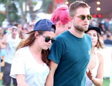 Cupid's Pulse Article: Celebrity News: Rob Pattinson, Kristen Stewart and Liberty Ross Attend Coachella, Separately