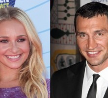 Celebrity Couple: Hayden Panettiere Supports Beau Wladimir Klitschko at Boxing Championship