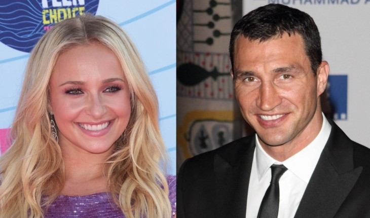 Cupid's Pulse Article: Celebrity News: Hayden Panettiere Tweets First Post-Engagement Photo with Wladimir Klitschko