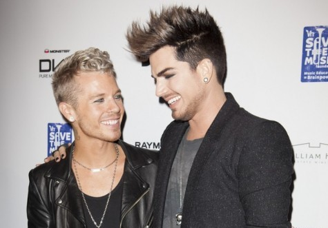 Cupid's Pulse Article: Celebrity News: Adam Lambert Splits from Boyfriend Sauli Koskinen