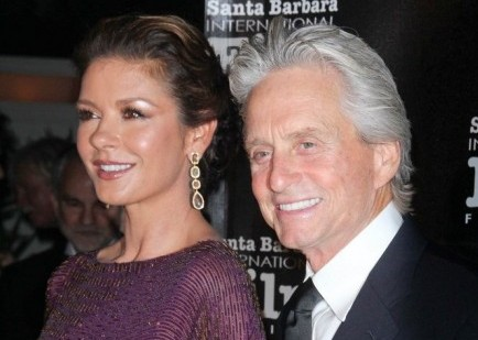 Catherine Zeta-Jones and Michael Douglas. Photo: Andrew Evans / PR Photos