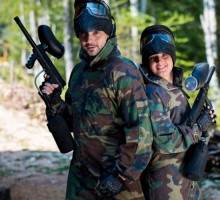 Date Idea: Go Paintballing Together