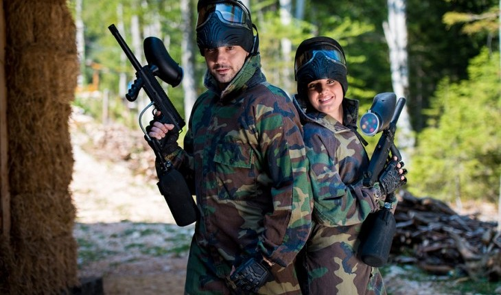 Cupid's Pulse Article: Date Idea: Go Paintballing Together
