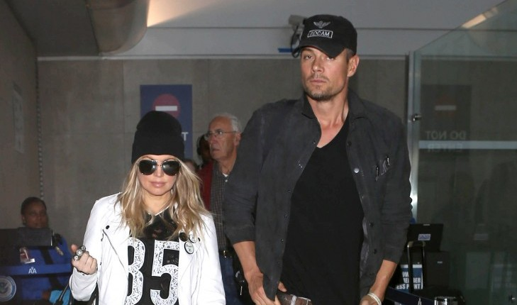 Cupid's Pulse Article: Celebrity News: Fergie Jokes That Josh Duhamel Wanted Children with Her From Their First Date