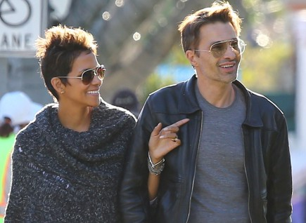 Halle Berry and Olivier Martinez. Photo: CPR/FAMEFLYNET PICTURES