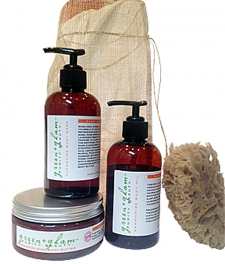 Cupid's Pulse Article: Giveaway: Inspire, Harmonize and Unwind with green&glam's Body Care Kit