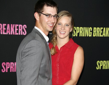Taylor Hubbell and Heather Morris. Photo: Juan Rico/FAMEFLYNET PICTURES