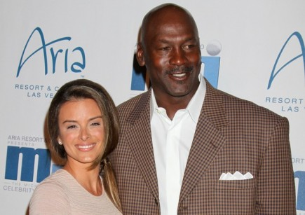 Michael Jordan and Yvette Prieto. Photo: PRN / PRPhotos.com