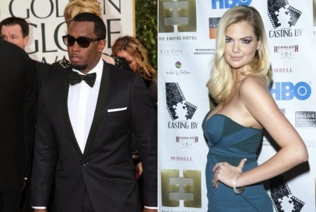 "Cupid's Pulse Article: Celebrity News: Sean ""Diddy"" Combs and Kate Upton Slam Dating Rumors"
