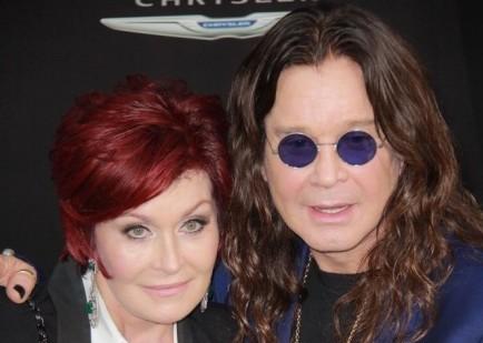 Sharon and Ozzy Osbourne.   Photo: Izumi Hasegawa / PR Photos