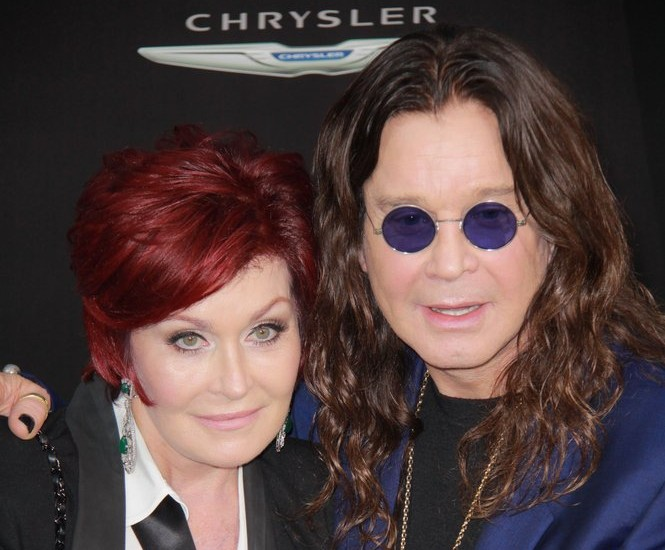 Cupid's Pulse Article: Celebrity News: Ozzy Osbourne Surprises Sharon Osbourne With Flowers For Her Birthday