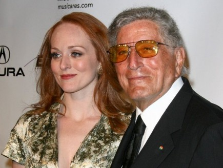 Antonia Bennett and Tony Bennett. Photo: Andrew Evans  / PR Photos