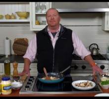 Dating Advice: Mario Batali Shares His Tips for Cooking at Home on Date Night