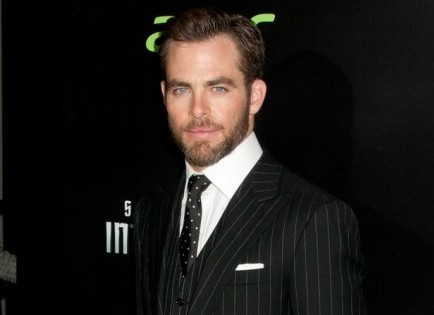 Cupid's Pulse Article: Celebrity News: Chris Pine Is Spotted with Swimsuit Model Amanda Frances