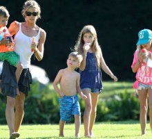 Denise Richards Sheds Light on Being a Single Mom