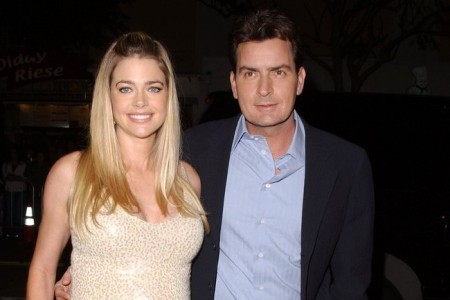 Cupid's Pulse Article: Denise Richards and Charlie Sheen Bring Kids on a Winter Vacation