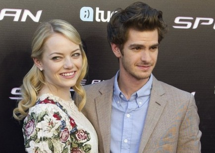 Emma Stone and Andrew Garfield. Photo: Solarpix / PR Photos